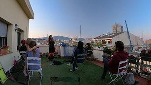 Nudo en la terraza_intro