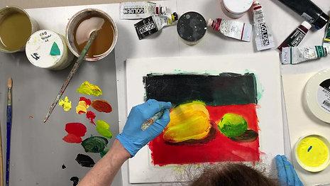 Still Life Painting Demo