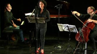Gabriel Sivak : Tres Instantes Oniricos (Maya Villanueva/Patrick Langot/Romain David)