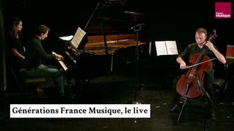 Claude Debussy : Sonate pour violoncelle et piano en ré mineur (Patrick Langot/Romain David)