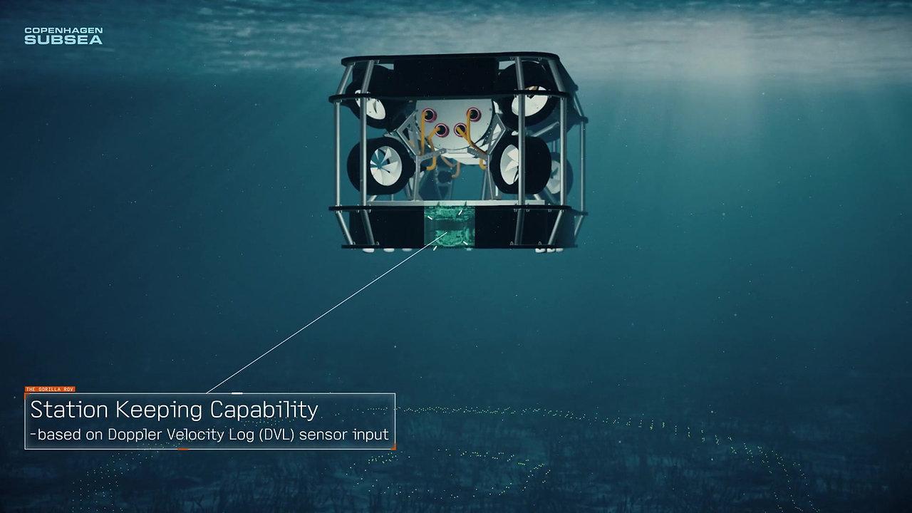 Copenhagen Subsea - Gorilla ROV Animation