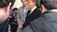 Adriano Espaillat with ECE @City Hall Press Conference 12-9-19