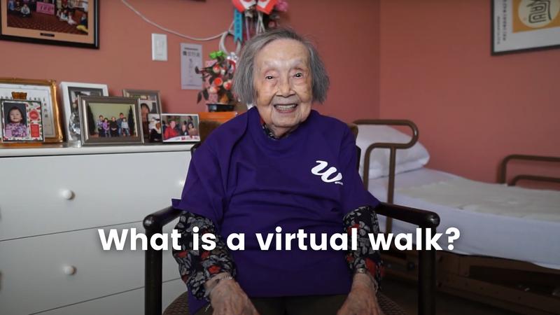 What is a Virtual Walkathon?