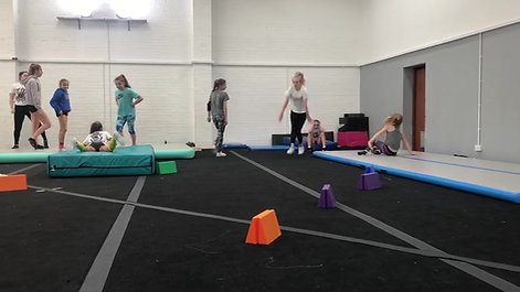 Tumbling at Vogue Athletics