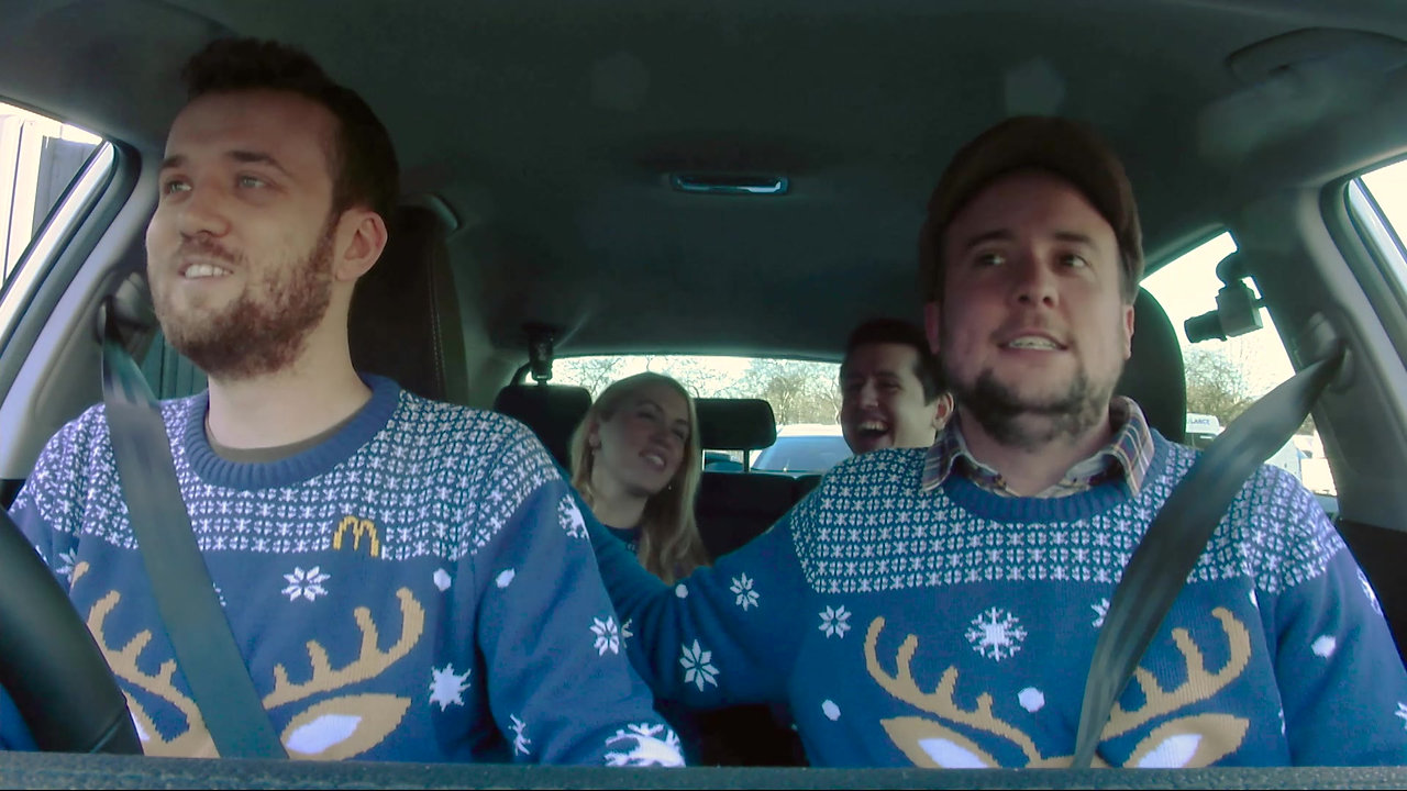 McDonald's Drive-Thru Carol Singing