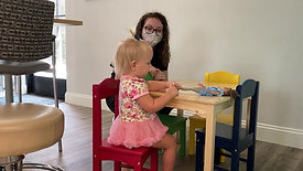 Capri, 20 Month Old Amputee, Learning to Walk with New Prosthesis UPDATE