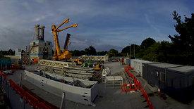 Demobilisation of the rig
