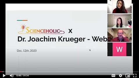 Dr. Krueger Webinar