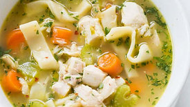 Making Chicken Noodle Soup with Angela Landrum