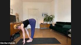 Yoga mit Fokus auf die Körpermitte