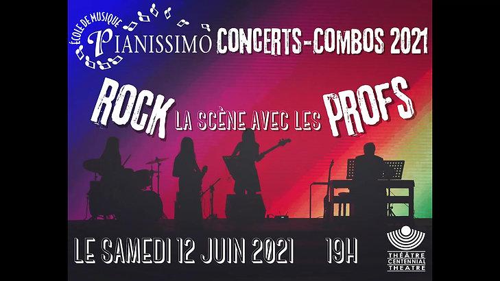Concert-Combos 2021 - samedi 12 juin 19h