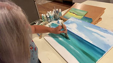 Art Lesson: Beach Painting 3