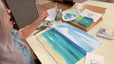 Art Lesson: Beach Painting 4