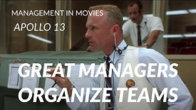 19. Great Managers Organize Teams