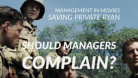 18. Should Managers Complain?