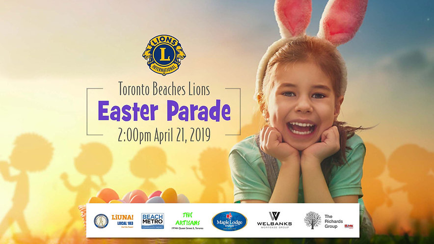 Beaches Easter Parade