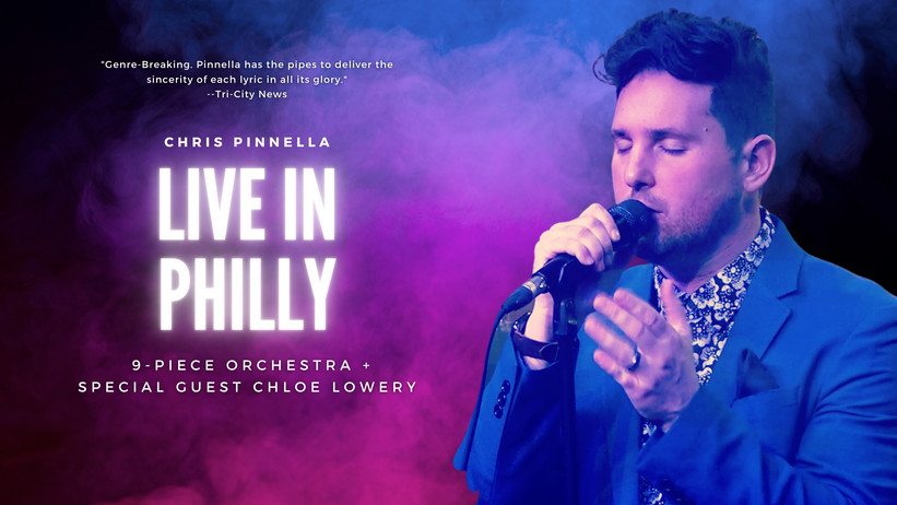 Chris Pinnella: Live in Philly
