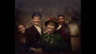 Traditional Victorian Carol Singers