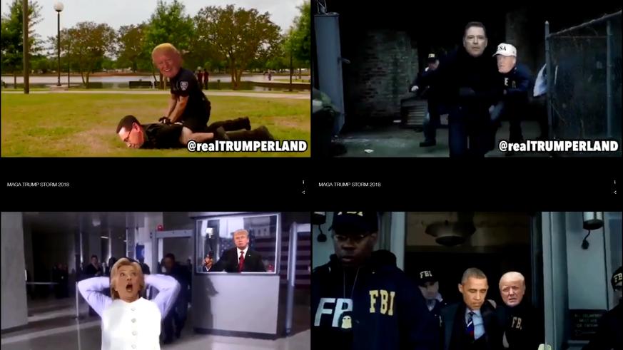MAGA TRUMP STORM 2019 - Arresting the Clinton Crime Cabal