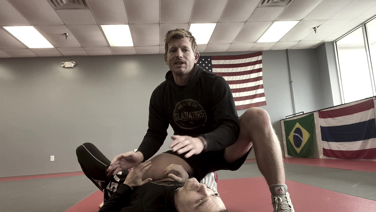 Knee on Belly to Armlock 7