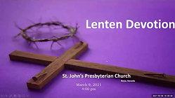 030921 Lenten Devotional