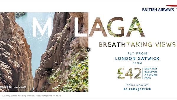 British Airways Malaga