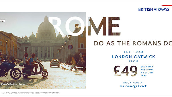 British Airways Rome