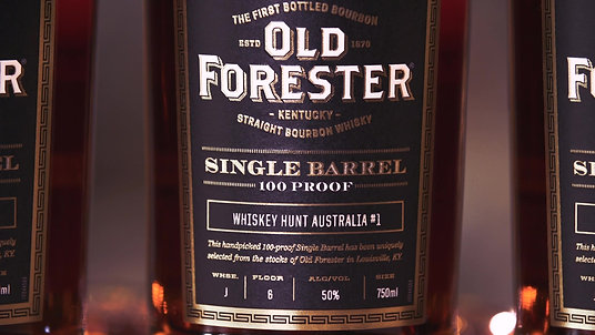 Old Forester Barrel Pick