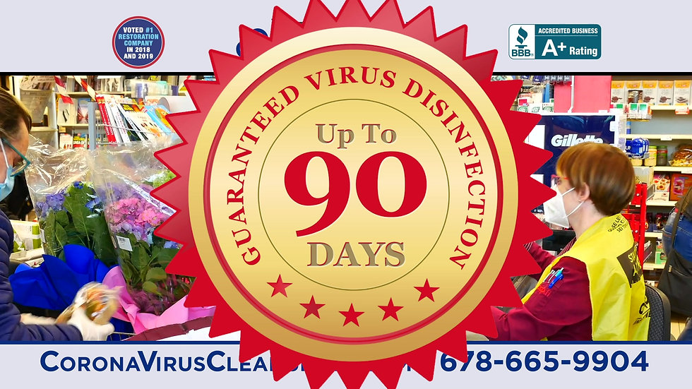 BLUEKEY VIRUS 90-DAY DISINFECTION