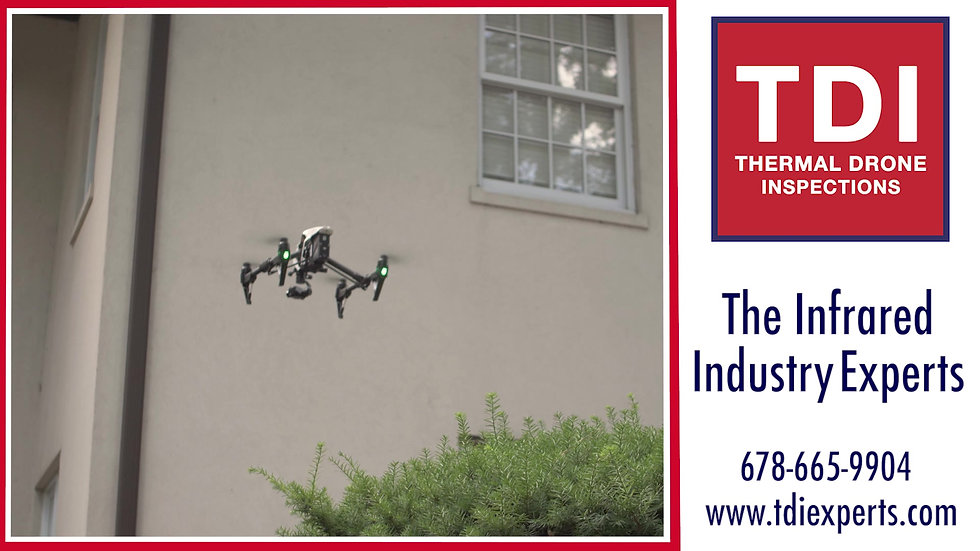 TDI Thermal Drone Inspections - The Infrared Industry Experts