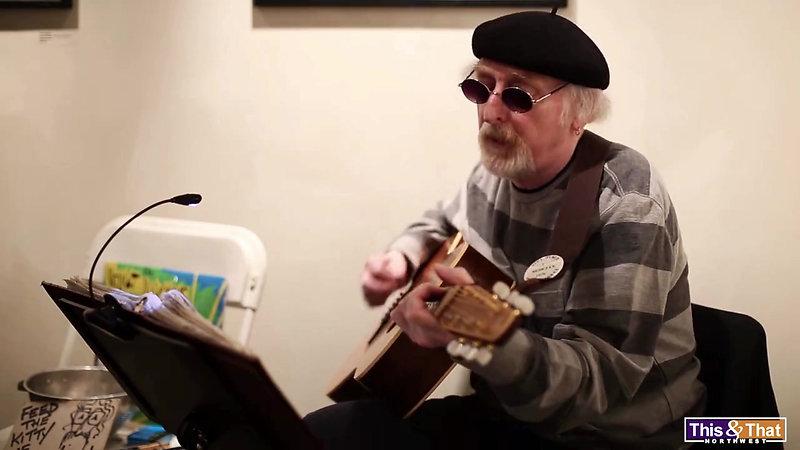 """Folk Singer RandyBowles Sings """"Walk with a Light Foot"""""""