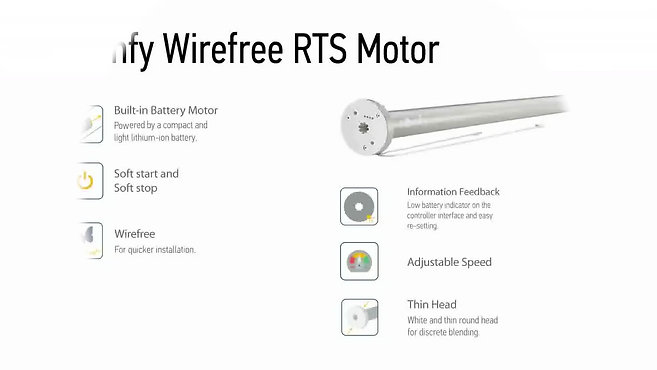 Somfy Wirefree RTS motor promotion