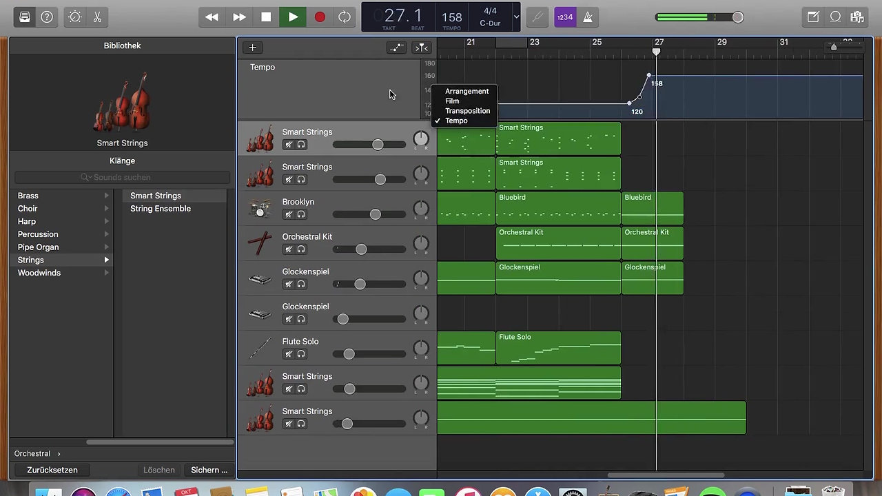 Timelapse of music production