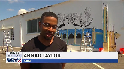 Bay News 9: Murals In Downtown Lakeland