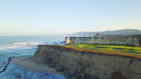 Ritz Carlton Half Moon Bay - Grounds Overview Drone