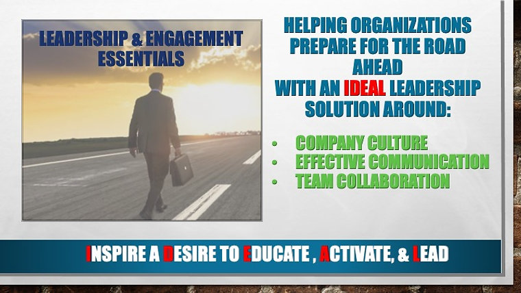 Leadership and Engagement Essentials