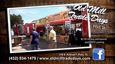 Old Mill Trade Days