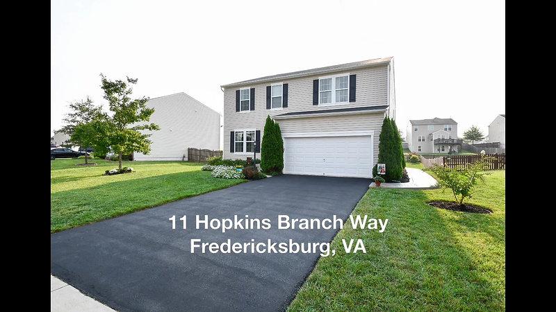 11 Hopkins Branch Way Fredericksburg, VA