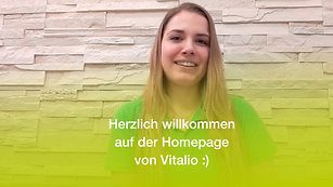 Herzlich willkommen auf der Homepage von Vitalio :)