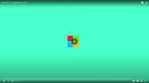 Microsoft Pride Campaign