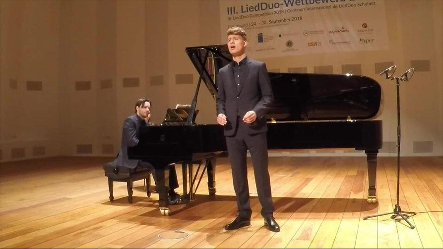 Franz Schubert - Die Götter Griechenlands D.677 - Maximilian Vogler, Sebastian Issler