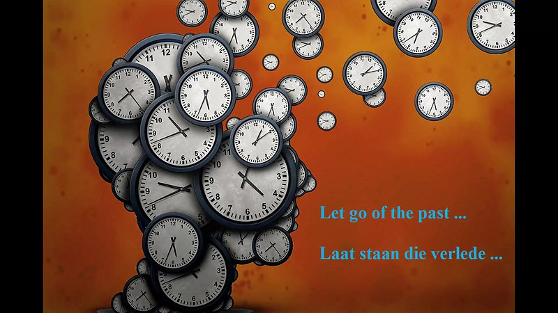 31 January 2021 - Letting go of the past.