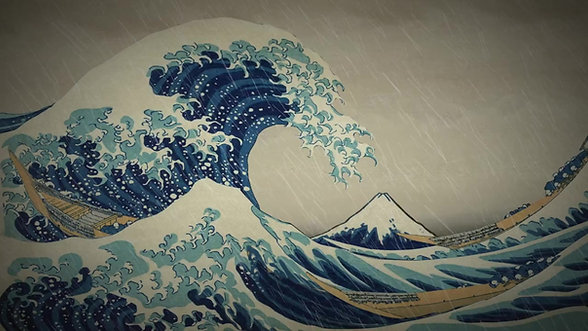 """""""The Great Wave"""" (Animating Art)"""