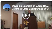 David an Example of God's Delieverance