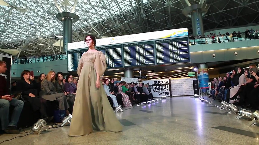 Russia. Modest Fashion Week во Внуково