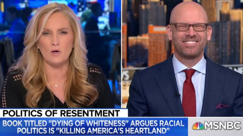 "Jonathan Metzl discusses ""Dying of Whiteness"" on MSNBC"