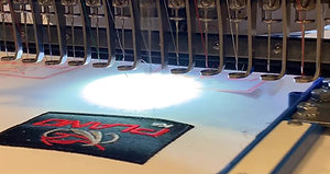Embroidery Machine Demo