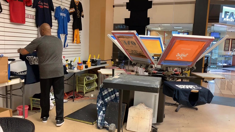 Screen Printing Channel
