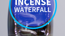 Incense Waterfall - Instagram
