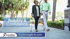 StrongArm Comfort Cane: Infomercial